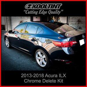 Chrome Delete Vinyl fitting the 2013-2021 Acura ILX