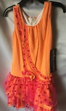 Isobella and Chloe Girls Sunset Sunrise Drop Waist Tired Dress Size 5-New
