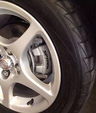 Mitsubishi Eclipse Toyota MR2 SPYDER Curved Brake Caliper Decals (8)