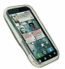 Silicone TPU Cover Case Mobile Phone Cover Case Shell in Foggy for Motorola DEFY