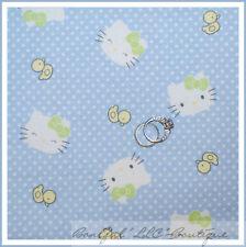 BonEful Fabric FQ Flannel Hello Kitty Duck Swiss Polka Dot BABY Girl Little Bow