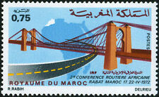 YT 635   MAROC Timbre Neuf ** TTB  COFERENCE ROUTIERE AFRICAINE  1972