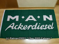 Fahnen Flagge MAN Ackerdiesel - 90 x 150 cm