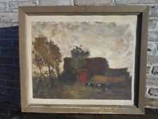 Peintures et émaux du XIXe siècle et avant sur toile école flamande