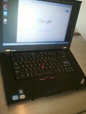 "Lenovo ThinkPad T520 laptop i5-2520M 2.5GHz 4GB 500GB WebCam 15.6""  Win 7 Pro"