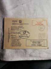 NAVE VESPUCCI DISPACCIO AEREO 1978 CATANIA PALERMO IN ELICOTTERO MINISTERO DIFES