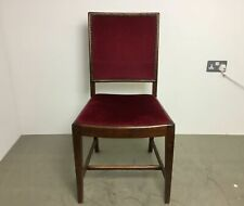 Set 14 Vintage Solid Oak Dining Chairs