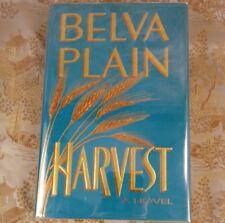 Harvest by Belva Plain First Edition