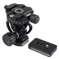 2D Panoramic Panorama Ball Head for Camera, Camcorder, Monopod, Tripod, Slider