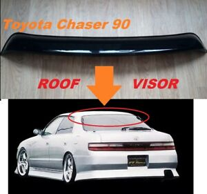 For Toyota Chaser 90 Roof Spoiler Rear Window Wing Deflector Visor 1992-1996 MY