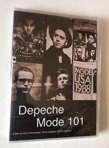 DVD DEPECHE MODE 101 A FILM BY D.A. PENNEBAKER CHRIS HEGEDUS DAVID DAWKINS + LIV