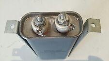 vintage sprague oil capacitor 4uf 600vdc