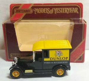 MATCHBOX MODELS OF YESTERYEAR 1:47 SCALE 1927 TALBOT VAN - DUNLOP TYRES - Y-5
