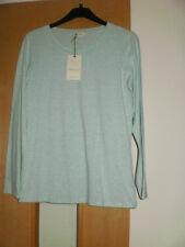 M & S Indigo T-shirt Taglia 10 NUOVO CON ETICHETTA