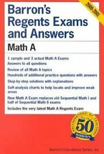 Barron's Regents Exams and Answers Bks.: Barron's Regents Exams and Answers : Ma