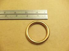 """1 9/16"""" Solid Brass O Rings Sca (Pack Of 5)"""