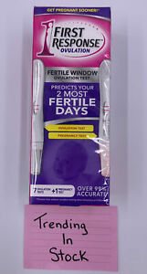 First Response Ovulation Pack 7 Tests & 1 Pregnancy Test Exp 9-19-22 SEALED