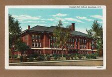 Aberdeen,Brown County,Sd South Dakota, Central High School, circa 1920's