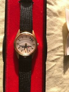 Vintage Time In Motion Texas International Airlines Collectible Wrist Watch