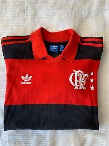 Adidas Originals 1980's Zico Flamengo Home Football Shirt Kit Top Size Medium