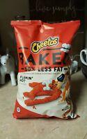 NEW Cheetos Oven Baked Flamin Hot BIG BAG 7.5 oz Gluten Free 50% Less Fat Snacks
