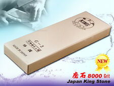 Japanese Brand King Whetstone #8000 Grit Sharpening stone Knife Sharpeners