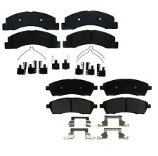 Front Rear Ceramic Brake Pad Sets Kit ACDelco for Ford Excursion F-250 F-350 SD