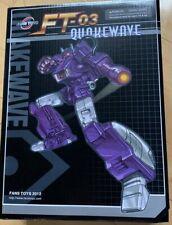 FansToys Quakewave FT-03T Transformers Masterpiece Shockwave | US Seller