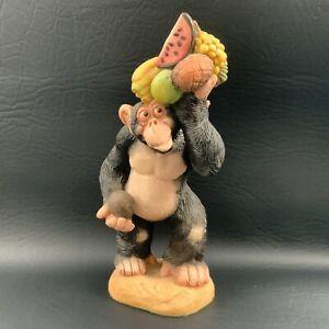 David Corbridge cheeky monkey Ornament 'feeling Fruity' - 1995