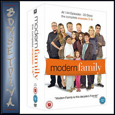 MODERN FAMILY - COMPLETE SEASONS 1 2 3 4 5 & 6 *BRAND NEW DVD BOXSET*