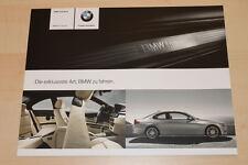 97217) BMW 3er Reihe E92 Coupe - individual - Prospekt 02/2009