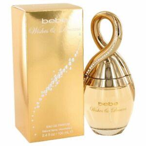 Bebe Wishes & Dreams 3.4 oz Eau De Parfum Spray by Bebe for Women