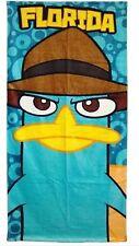 Disney Big Face Perry Phineas & Ferb Beach Towel Florida