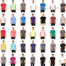 Bella Canvas Mens Cotton / Polyester T-Shirt Cotton Tees XS-2XL- 3650
