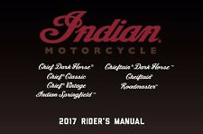 Indian Owners Manual Book 2017 Indian Springfield