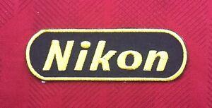 NIKON CAMERA PHOTOGRAPHY DIGITAL ART  BADGE IRON SEW ON PATCH