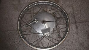 YAMAHA YDS, YDS5, YDS6, YDS3.  Rear wheel, Rear rim, Rear brakeplate, Rear sproc