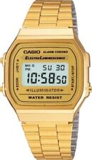 New Caso Gold DIgital Alarm Unisex Latest Watch A168 ,A168WG-