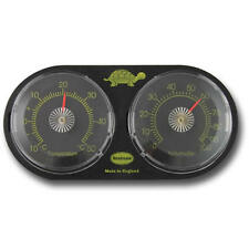 Tanque De Reptil Termometro Higrometro Medidor de Humedad Terrario Vivarium - 30/442/2