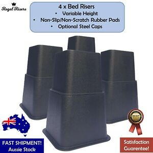 Bed & Furniture Risers 3 Variable Heights (7.5cm, 13cm, 20cm)