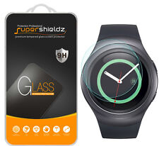 2X Supershieldz Tempered Glass Screen Protector Saver For Samsung Gear S2