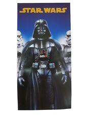 Kids Children's Disney STAR WARS Darth Vader Towel Bath Beach Swimming Holiday