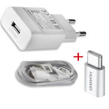 Huawei Original Ladegerät AP32 9V 2A Schnell Ladekabel Micro USB+ Type C Adapter