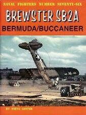 Ginter Naval Fighters: Brewster Sb2A Bermuda/ Buccaneer magazine 76 X