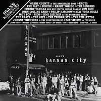 MAX'S KANSAS CITY: 1976 & BEYOND 2CD Suicide Wayne County Fast Nico NY Dolls new