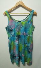 """Pre-loved """"free fusion"""" Pastel Summer Dress with Pockets Size L as new"""