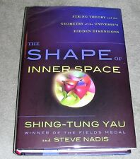 THE SHAPE OF INNER SPACE - Shing-Tung Yau 2012 HC/DJ 1st / 1st ~ MINT + Cover