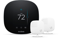 ecobee3 lite Wi-Fi Smart Thermostat (black) never been opened still in box.