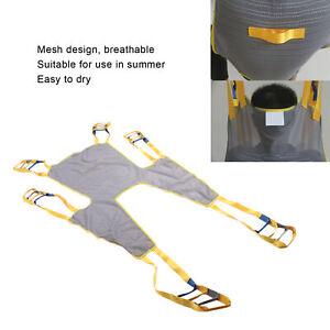 Patient Lift Divided Leg Sling Transfer Belt Elderly Breathable Lift Sling
