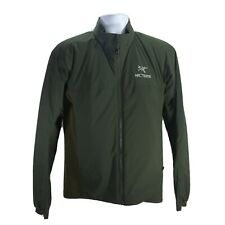 Arcteryx Mens Atom Medium Full Zip Insulated Jacket Forest Green